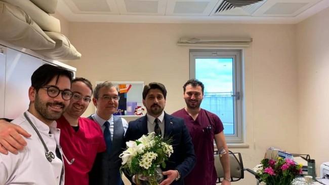 Fatih Yağcı'dan Tıp Bayramı ziyareti