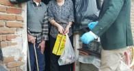 Kırklareli'nde Vefa Sosyal Destek  Grubu ihtiyaç  sahiplerinin yanında