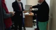 Demirköy Kaymakamından sağlık çalışanlarına jest