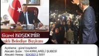 Başkan Koşdemir de destek oldu