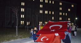 Babaeski KYK öğrencilerinden Mehmetçiğe destek