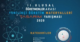 'Ulusal Öğretmenler Arası Yenilikçi Öğretim Materyalleri Tasarım Yarışması'