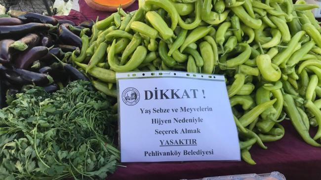 Pehlivanköy'de aralıksız devam eden tedbir çalışmaları
