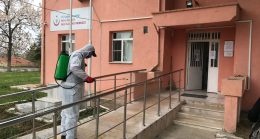 Pehlivanköy'de Covid19'a karşı  tedbirlere devam ediliyor