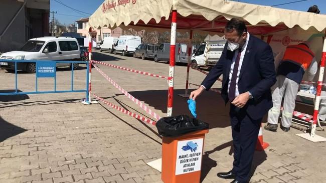 Ahmetbey'de tedbirlere devam ediliyor