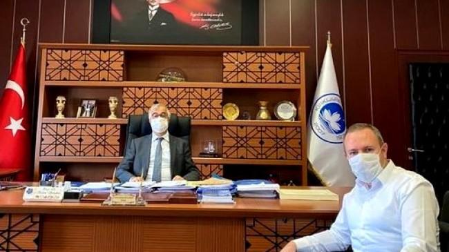 KTSO Başkanı Soner Ilık'tan KLÜ Rektörü Prof. Dr. Bülent Şengörür'e ziyaret
