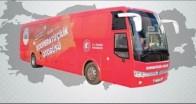 Kooperatifçilik Otobüsü Babaeski'de