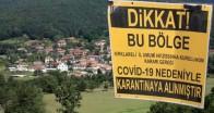 Balaban Köyü karantinaya alındı