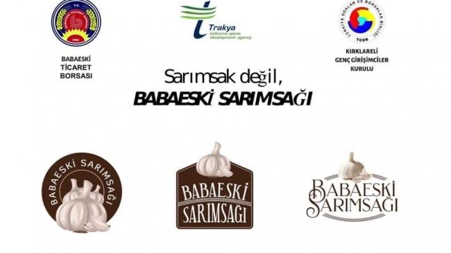 Babaeski Sarımsağı'nın logosunu Babaeski Halkı belirleyecek