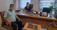 Yeni Hastane Müdürü Çalış'a ziyaret
