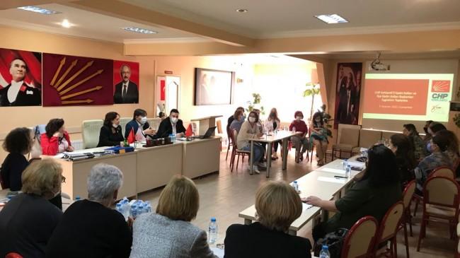 CHP İl Başkanı Güncer:Kadın kollarımız yan kolumuz değil, özgücümüz