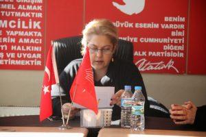 CHP Babaeski Kadın Kolları Başkanı Necmiye Kurtpulat